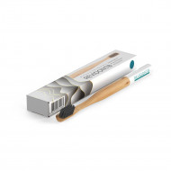 Bamboo toothbrush Revidont (blue)