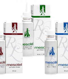 Mesotel for external use